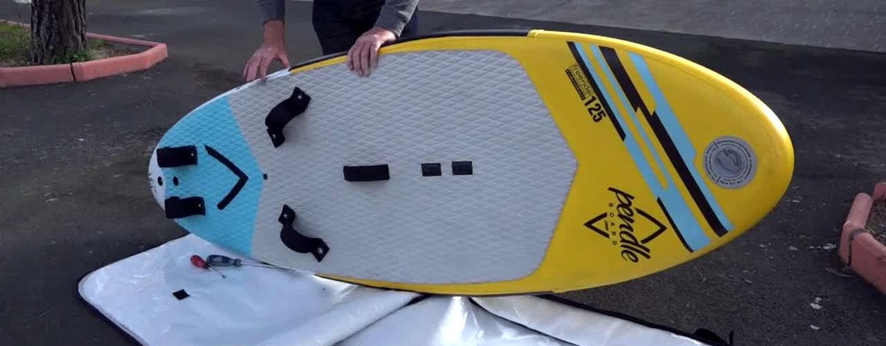 Slide-In Nylon Surfboard Zentral Fin Surfen Platte Paddel Board Zentrum Fin #R